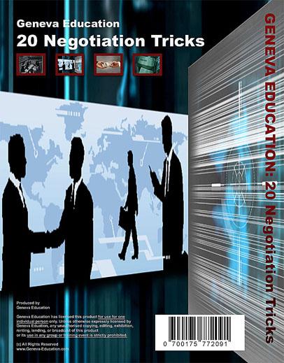 20 Negotiation Tricks by Geneva Education